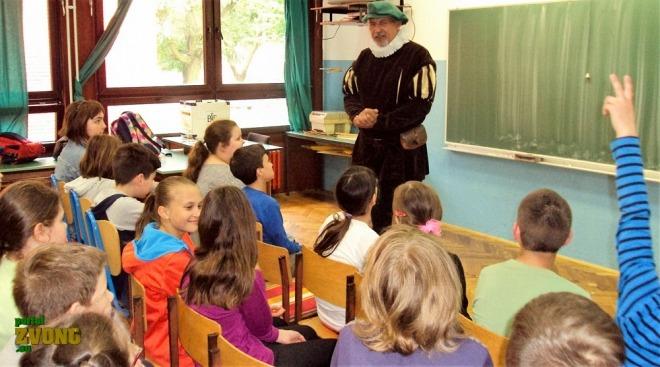 Književni susret u viteškom kostimu – IV Osnovna škola u Bjelovaru