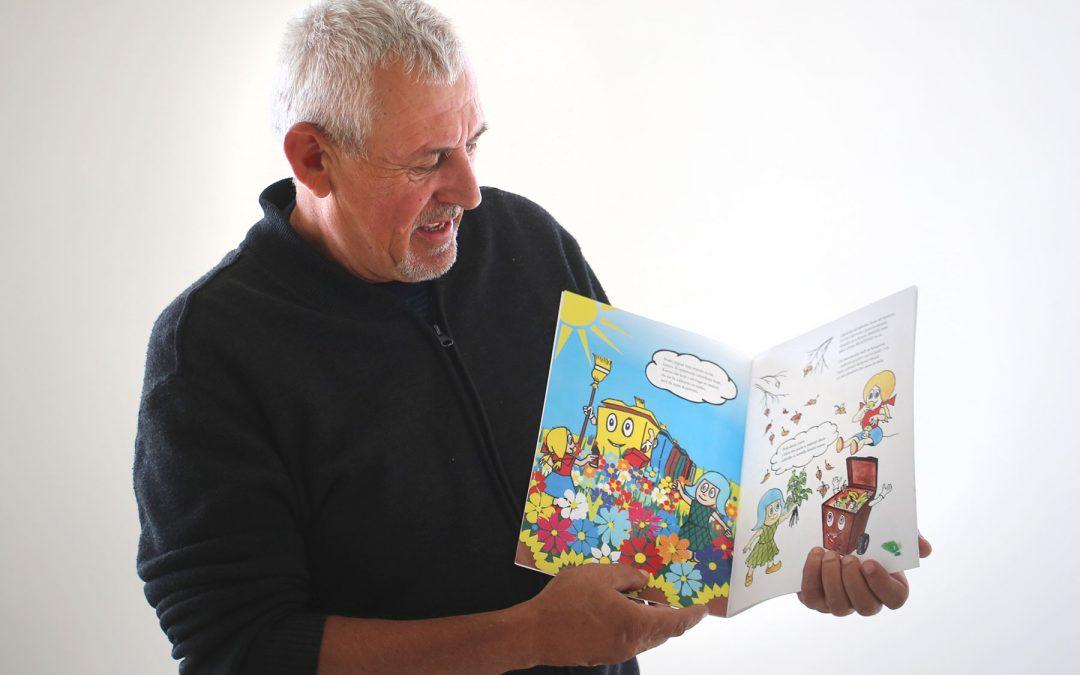 Popularni Koprivko postao je ekološki osviješten te kroz priču i radni dio djecu uči razvrstavanju otpada